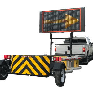 Attentuator Truck with Arrow